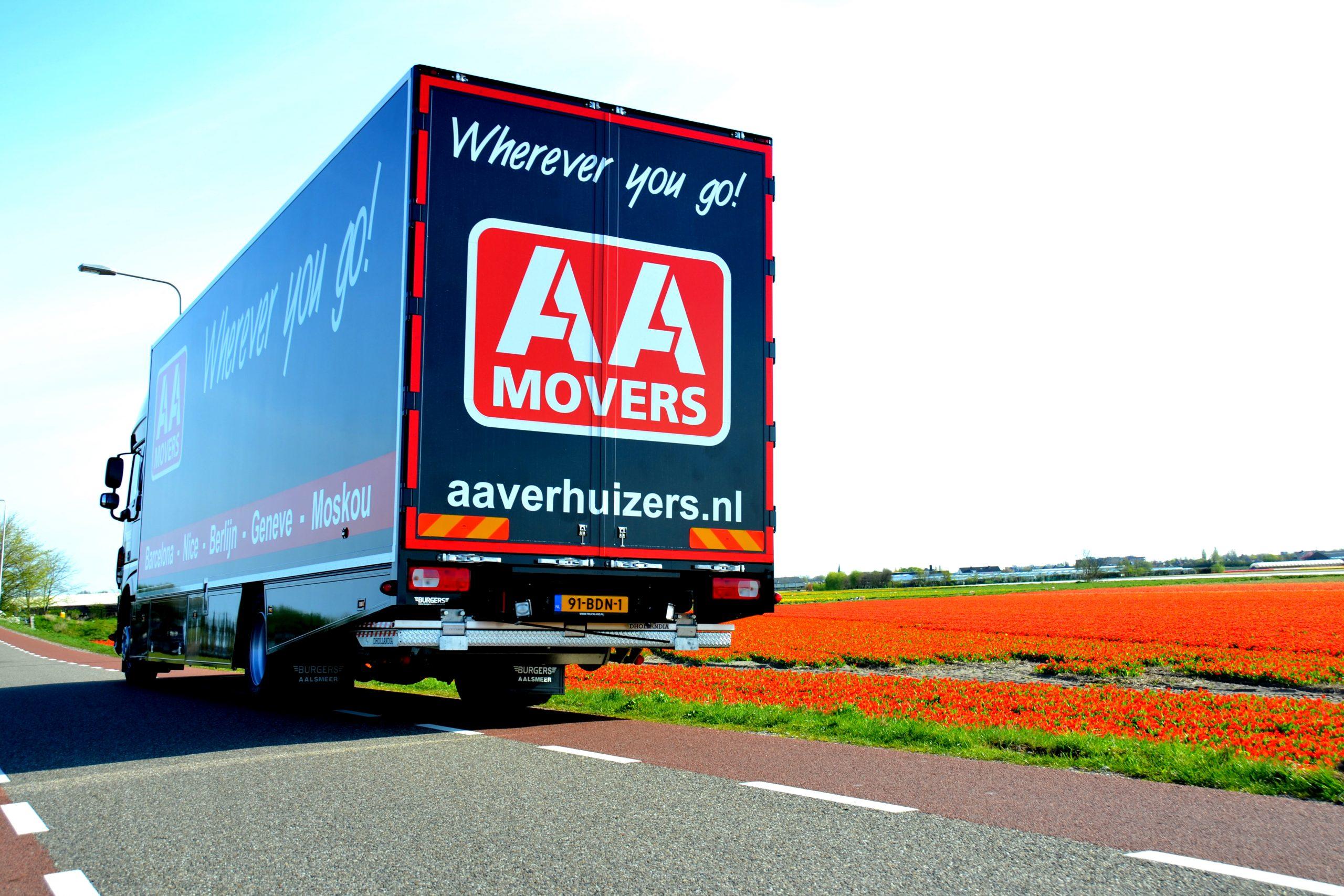 Poster AA Verhuizers